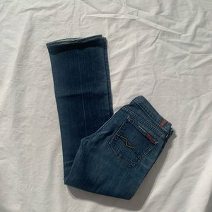 """7 For All Mankind Size 30 Inseam 31"""" Bootcut"""
